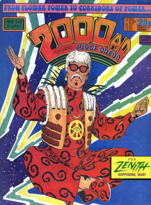 Steve Dillon - 2000 AD 02