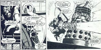 Steve Dillon - Doctor Who magazine 02