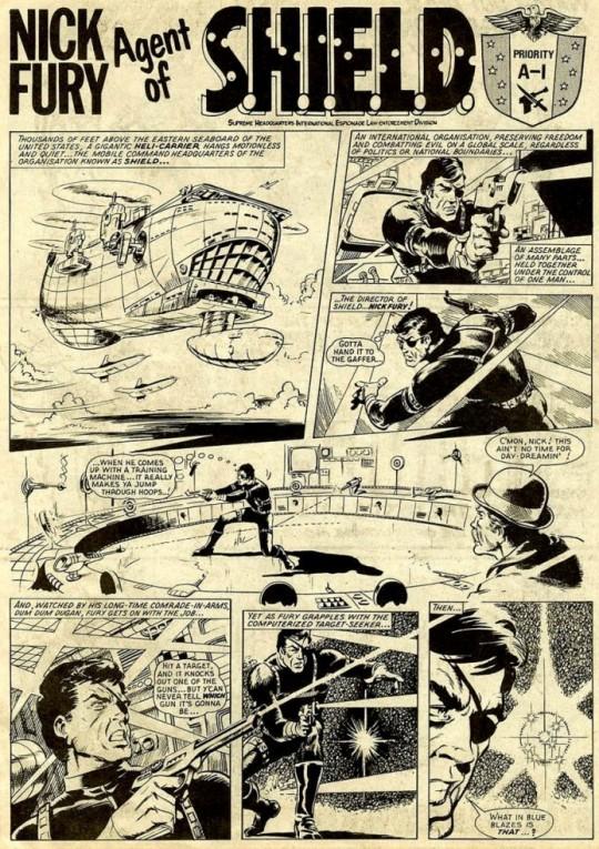 Steve Dillon - Hulk Weekly 01