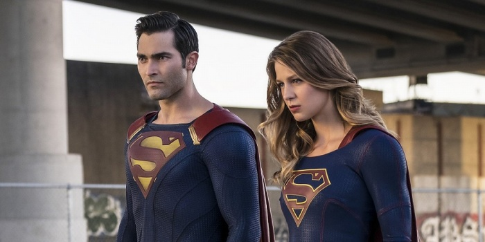Supergirl y Superman
