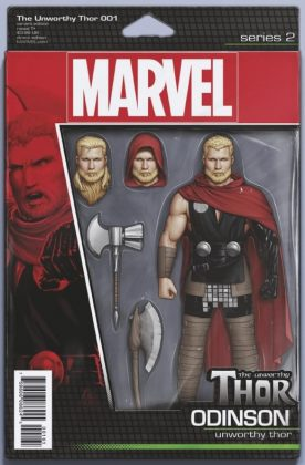 The Unworthy Thor 1 Christopher Action Figure Variant