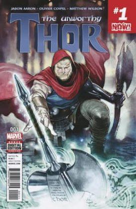 The Unworthy Thor 1 Cover
