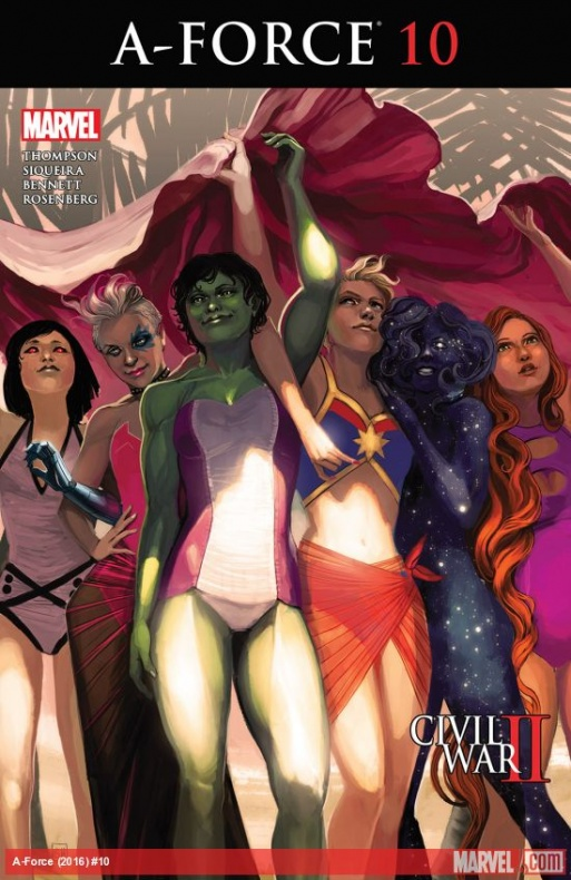 A-Force #10
