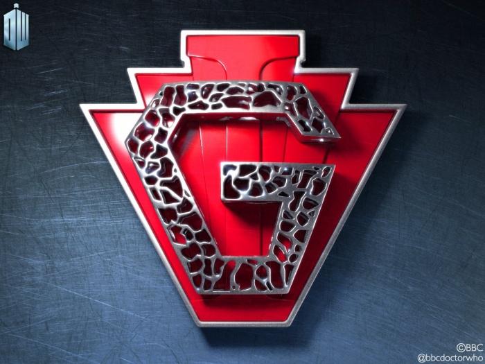 doctor who superheroe logo navidad
