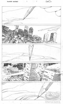 monsters unleashed page 1