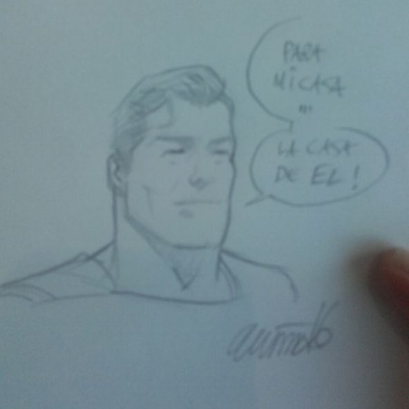 VGCómic 2016 - Superman de Daniel Acuña