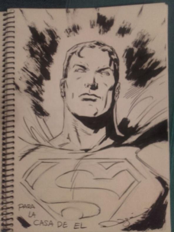 VGCómic 2016 - Superman de Fernando Dagnino