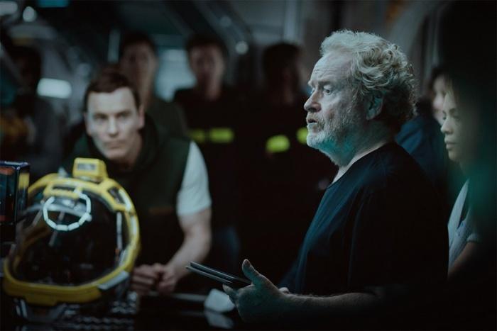 Fassbender en Alien: Covenant