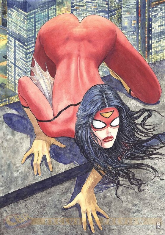 372718 portada milo manara spider woman 1 desata polemica