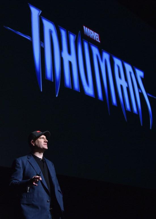 Kevin Feige 'Inhumanos'