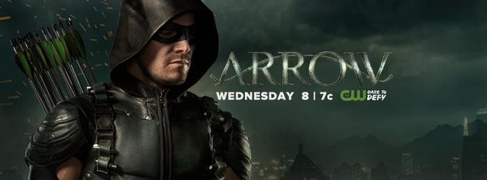 Arrow - temporada 5 banner