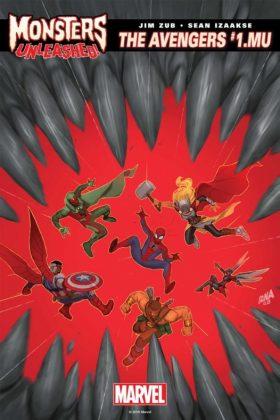 Avengers 1.MU Cover