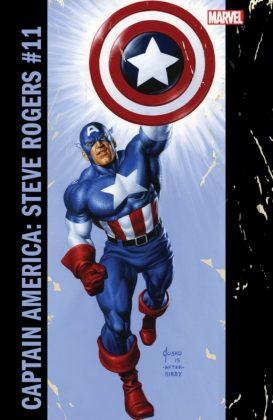 Captain America Steve Rogers 11 Corner Box Variant