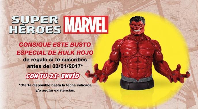 Colección bustos de superhéroes Marvel