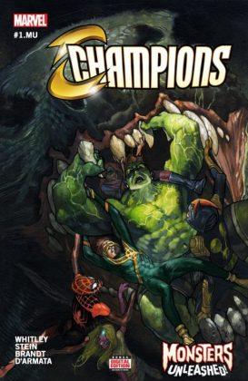 Champions 1.MU Cover