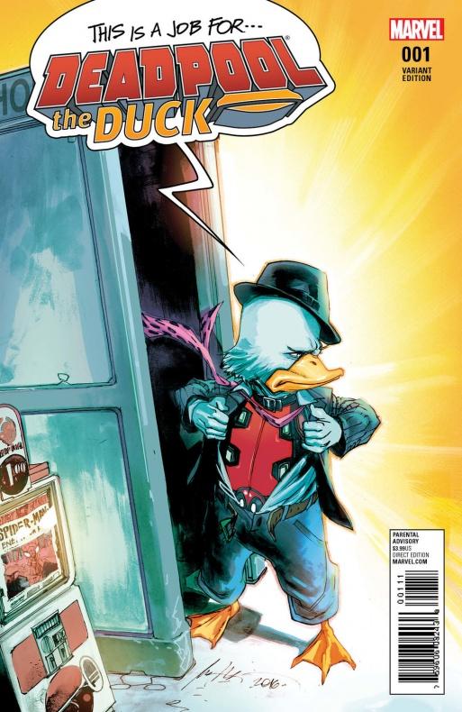 Deadpool the Duck 1 Albuquerque Variant