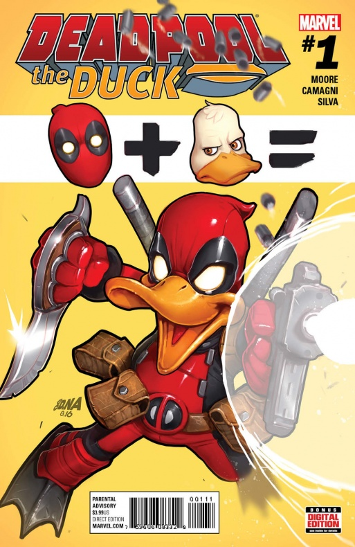 Deadpool the Duck 1 Cover
