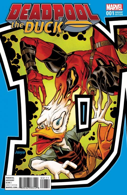 Deadpool the Duck 1 Johnson Connecting Variant