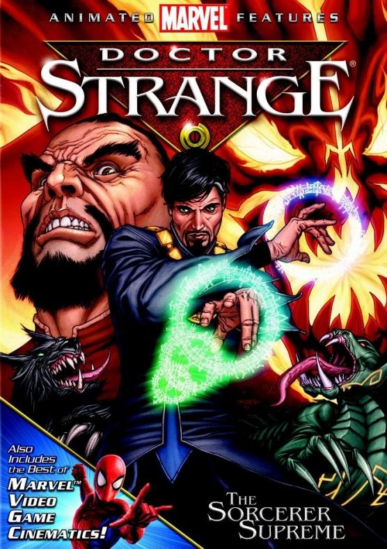 Doctor Strange 2007 DVD Cover