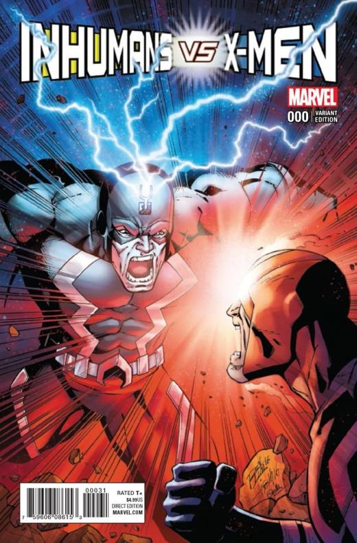 Inhumans Vs X Men 2