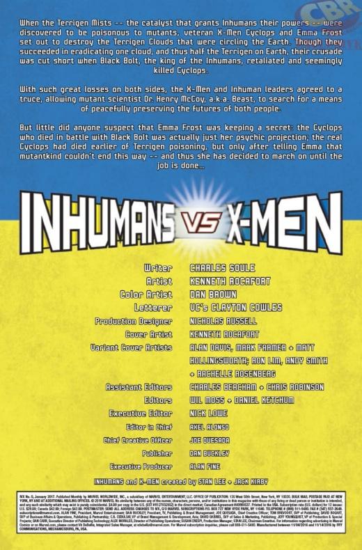 Inhumans Vs X Men 3