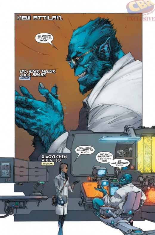 Inhumans Vs X Men 6