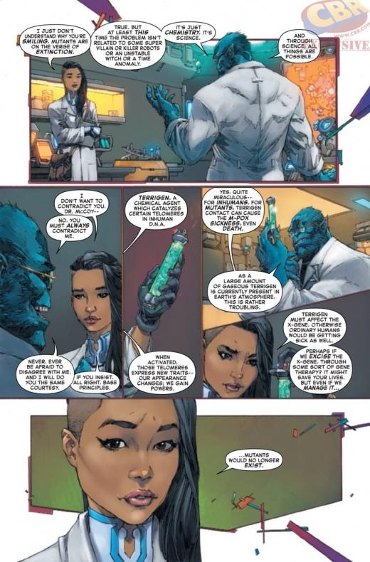 Inhumans Vs X Men 8