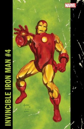 Invincible Iron Man 4 Corner Box Variant
