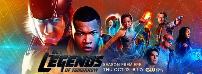 Legends of Tomorrow - temporada 2 banner