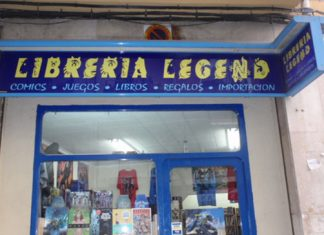 Libreria Legend destacada
