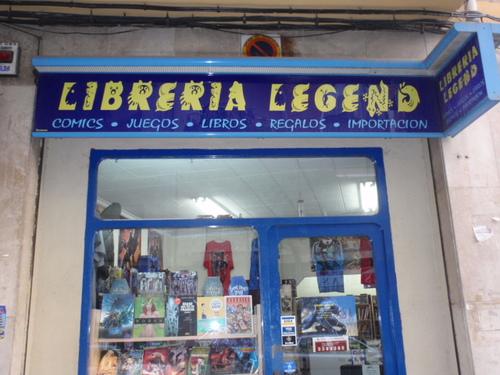 Libreria Legend exterior