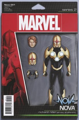 Nova 1 Christopher Action Figure Variant