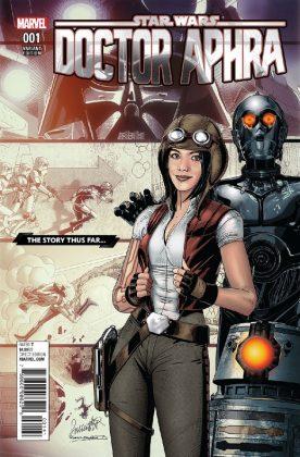 Star Wars Doctor Aphra 1 Larroca Story Thus Far Variant