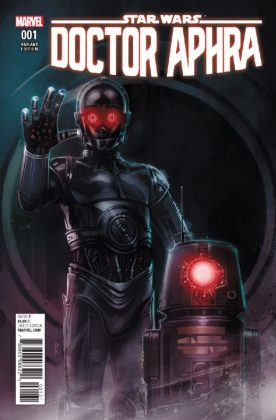Star Wars Doctor Aphra 1 Reis Droids Variant