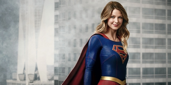 Supergirl - temporada 2 - banner