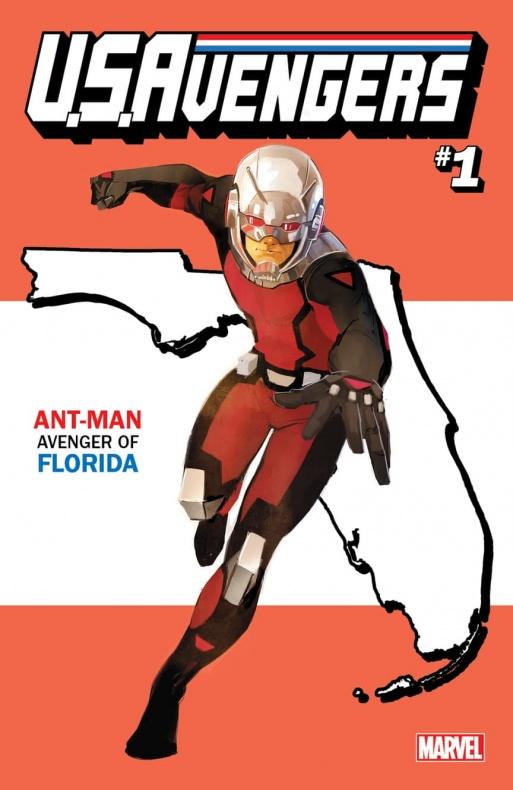 US Avengers Ant Man 1 variant