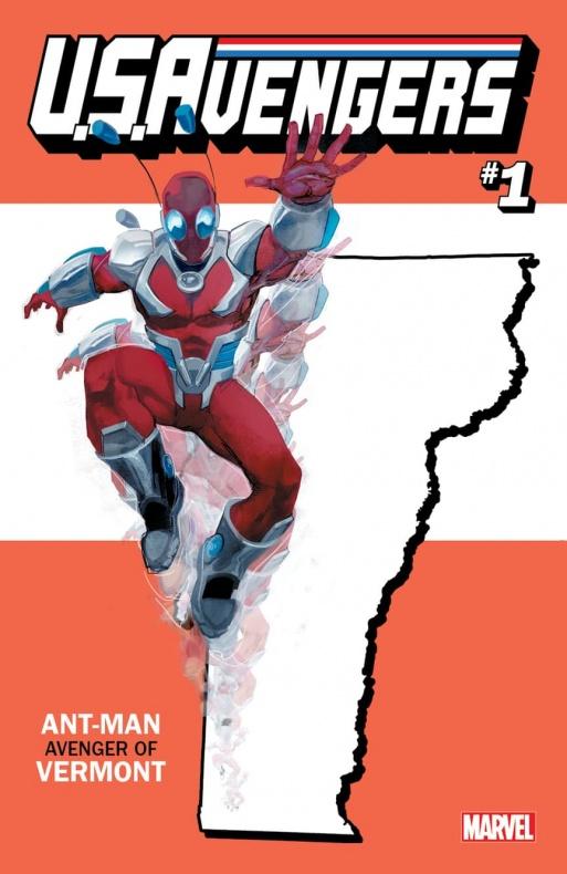 US Avengers Ant Man 2 variant