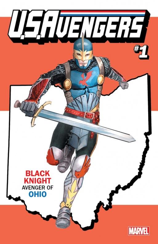 US Avengers Black Knight variant