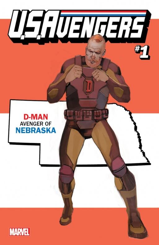 US Avengers D Man variant