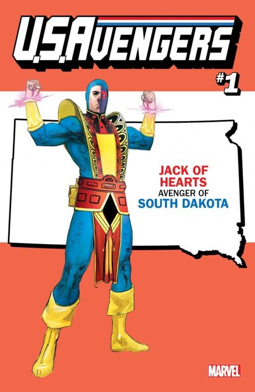 US Avengers Jack of Hearts variant