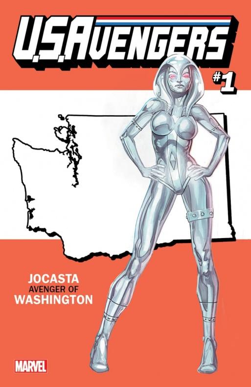 US Avengers Jocasta variant