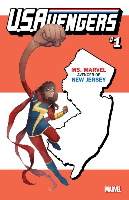 US Avengers Ms. Marvel variant