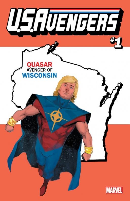 US Avengers Quasar variant