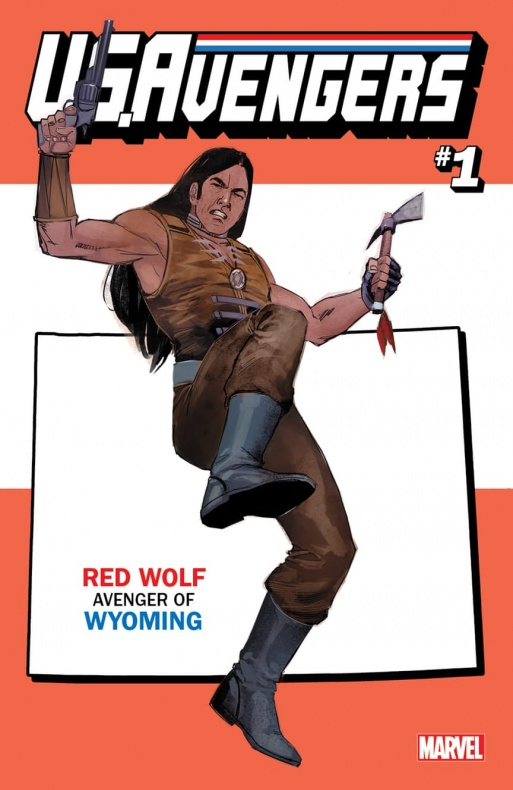 US Avengers Red Wolf variant