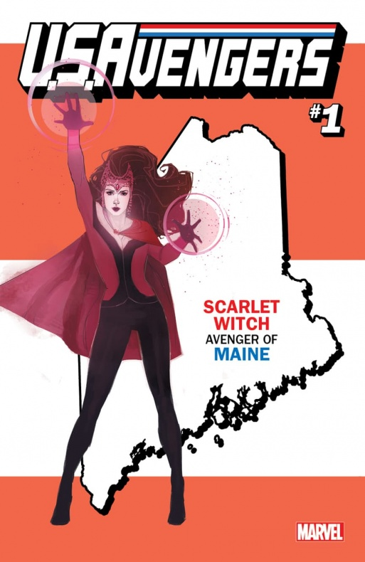 US Avengers Scarlet Witch variant