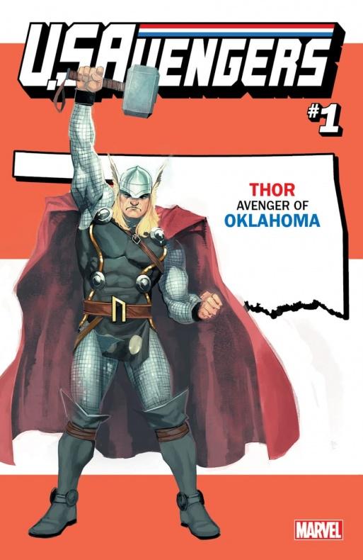US Avengers Thor variant