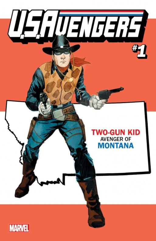 US Avengers Two Gun Kid variant