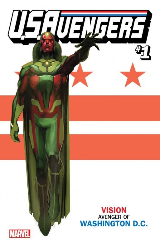 US Avengers Vision variant