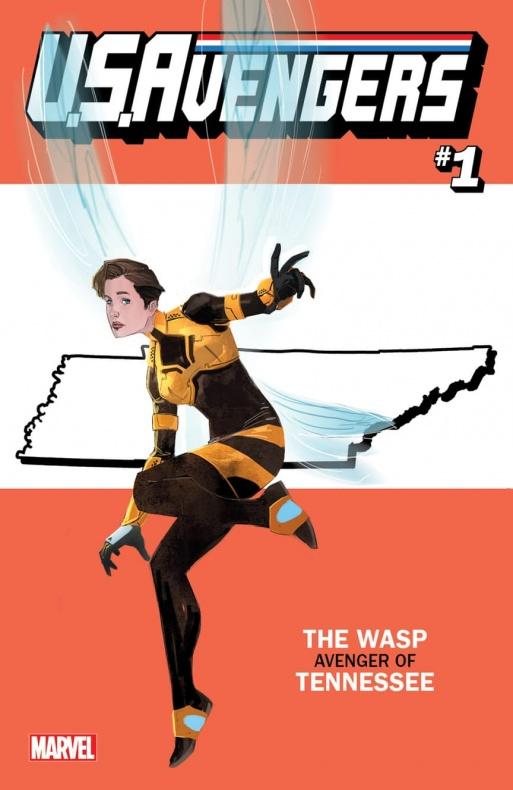 US Avengers Wasp variant