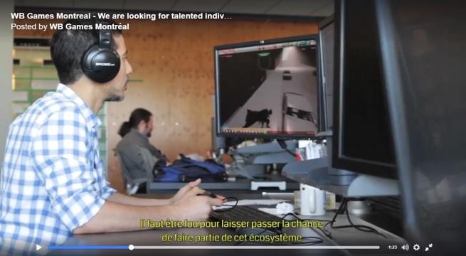 Captura video Warner Bros Montreal